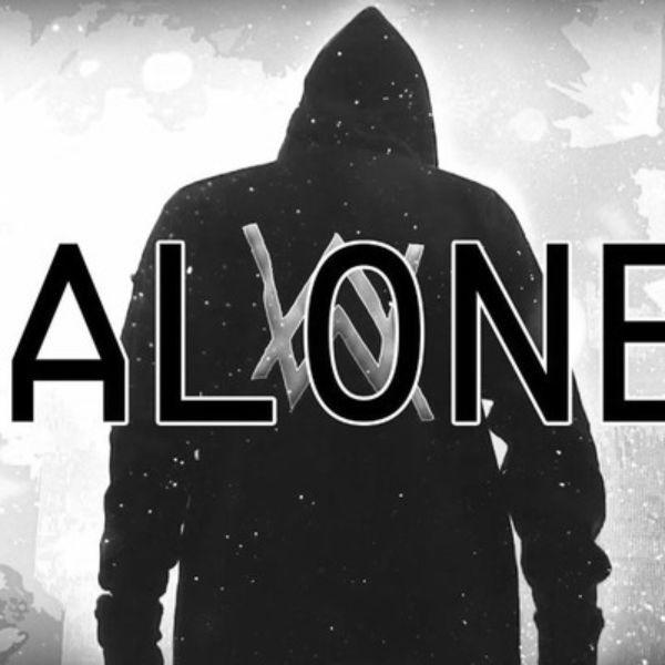 دانلود موزیک ویدیو (آلن واکر) Alan Walker با نام (تنها) Alone
