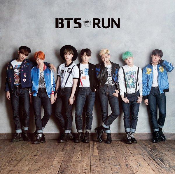 دانلود آهنگ کره ای گروه (بی تی اس) BTS با نام (دویدن) RUN