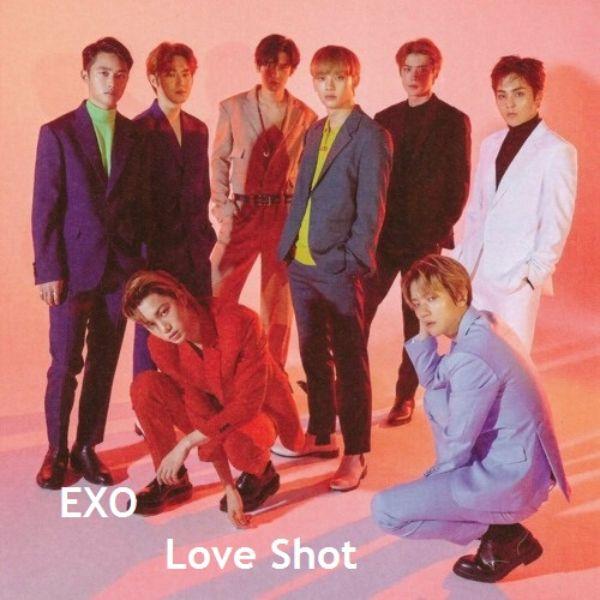 دانلود آهنگ کره ای گروه (اکسو) EXO با نام (شوت عشق) Love Shot