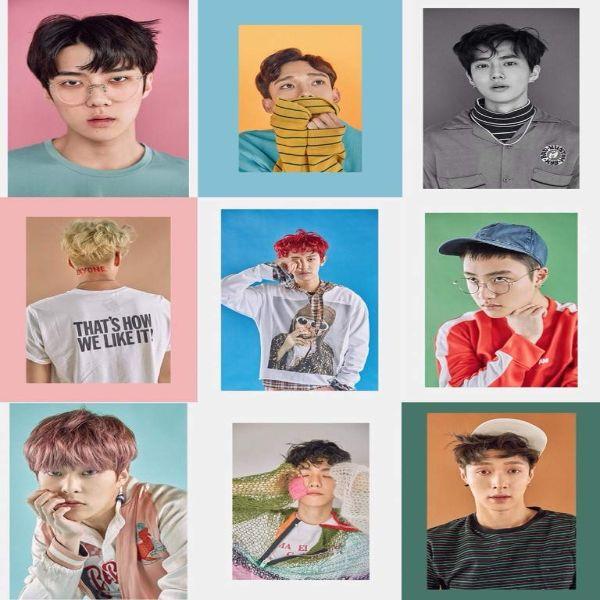 دانلود آهنگ کره ای گروه (اکسو) EXO با نام (یک خوش شانس) Lucky One