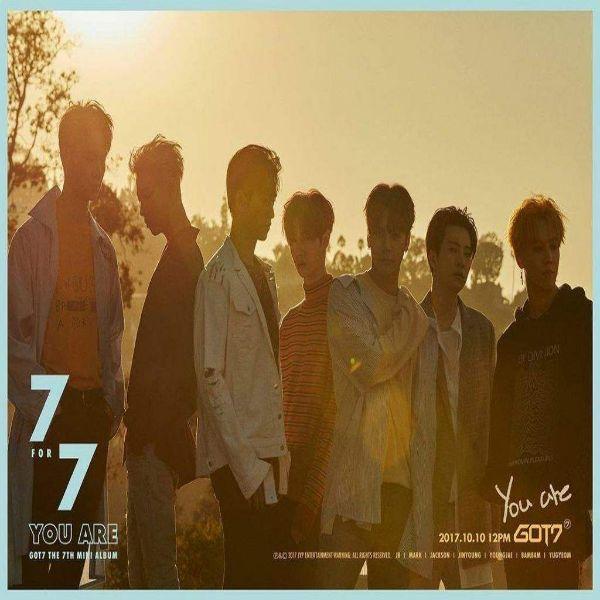 دانلود موزیک ویدیو کره ای گروه (گاتسون) GOT7 با نام (شما هستی) You Are