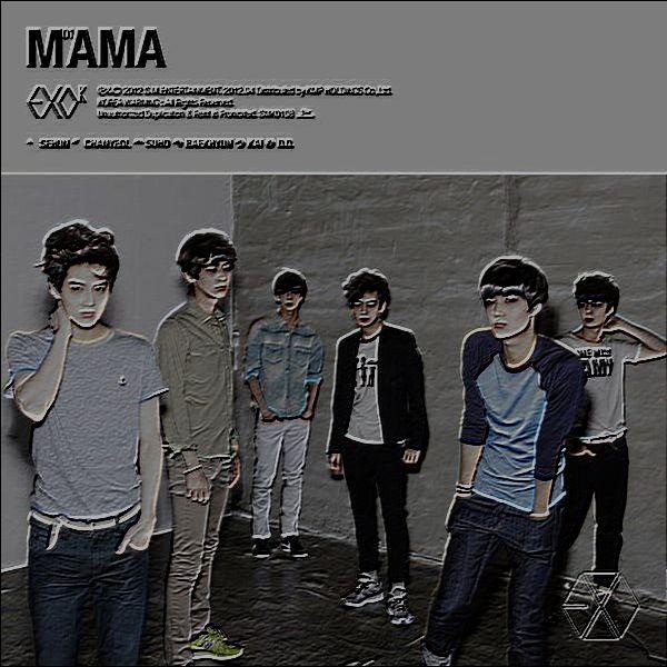 دانلود آهنگ کره ای گروه (اکسو) EXO با نام (ماما) Mama