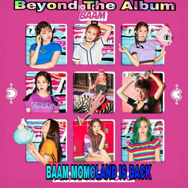 دانلود آهنگ کره ای گروه دختر (مومولند) Momoland با نام (بام) BAAM (به همراه ریمیکس Remix)