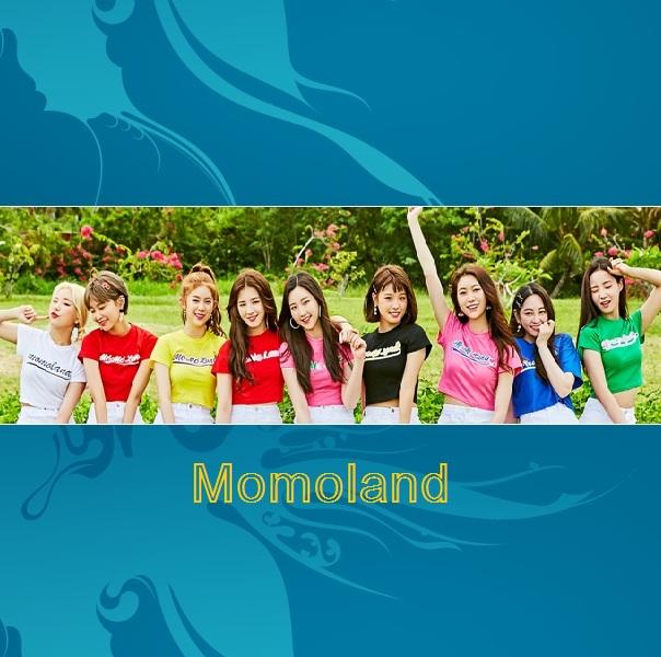 دانلود آهنگ کره ای گروه دختر (مومولند) Momoland با نام (بوم بوم) Bboom Bboom (به همراه ریمیکس Remix)