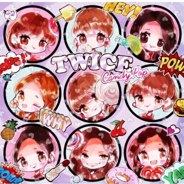 دانلود آهنگ کره ای گروه Twice (توایس) با نام (آب نبات پاپ) Candy Pop(به همراه ریمیکس Remix)
