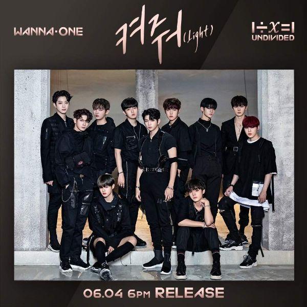 دانلود موزیک ویدیو کره ای (وانا وان) Wanna One با نام (نور-چراغ) Light