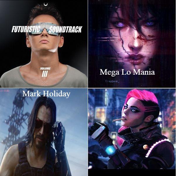 دانلود آهنگ بی کلام 2018 (مارک هالیدی) Mark Holiday با نام (مگا لو مانیا) Mega Lo Mania