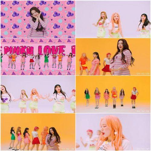 دانلود موزیک ویدیو کره ای گروه (مومولند) Momoland با نام (عشق صورتی) Pinky Love