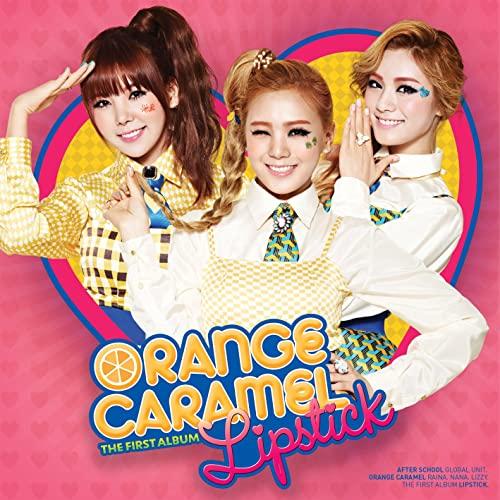 دانلود موزیک ویدیو کره ای گروه (کارامل نارنجی) Orange Caramel با نام (رژ لب) Lipstick