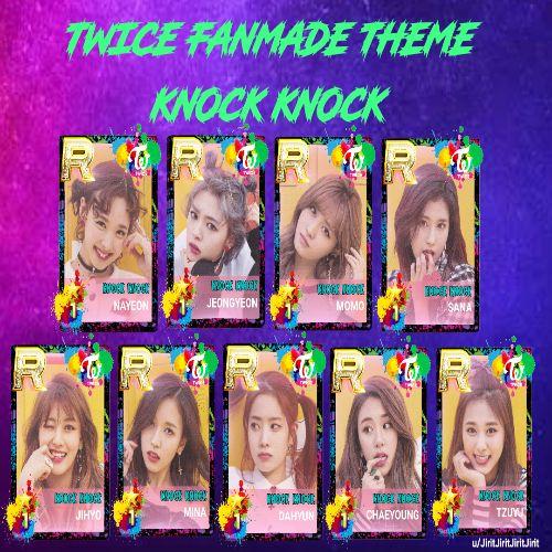 دانلود آهنگ کره ای گروه (توایس) TWICE با نام (در زدن) Kno-ck (به همراه ریمیکس Remix)