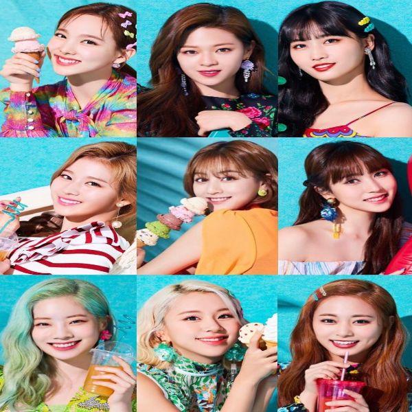 دانلود موزیک ویدیو کره ای گروه 2019 (توایس) Twice با نام (خوشحال) Happy